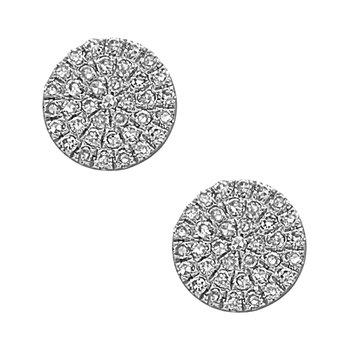 Diamond stud earrings by Bassalli