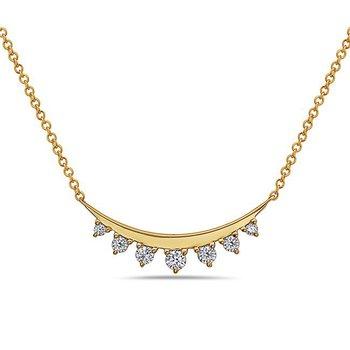 Diamond Necklace by Bassalli