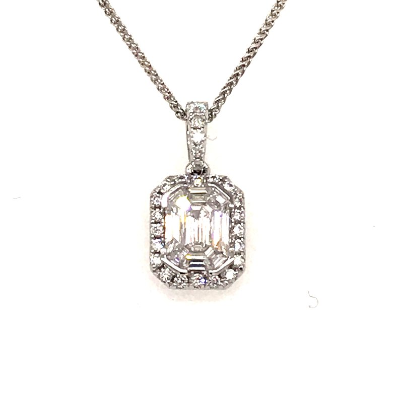 Barany Signature Diamond Pendant by Diamond Expressions