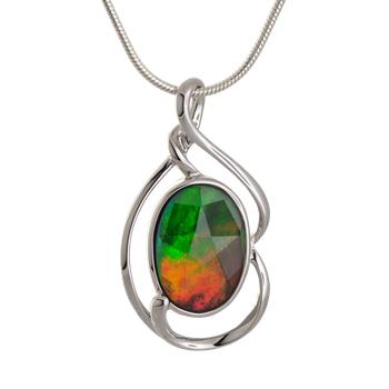Ammolite pendant by Korite