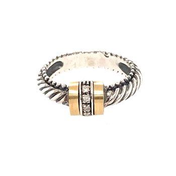 Diamond fashion ring by Phillip Gavriel