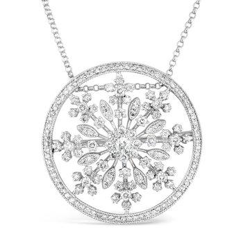 Snowflake Convertible Pin/Pendant