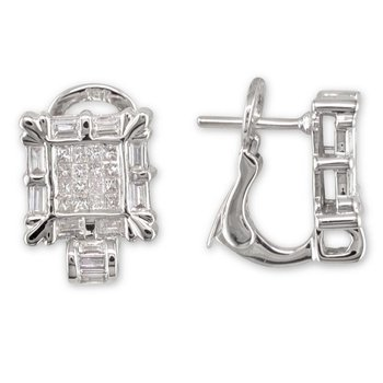 Picture Frame Earring