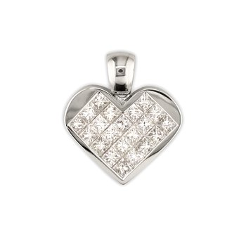 Princess Heart Pendant