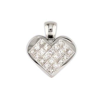 Princess Heart Pendant