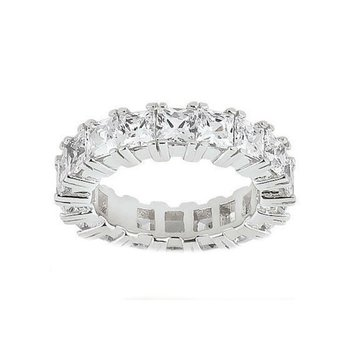 Princess Eternity Wedding Band Customized