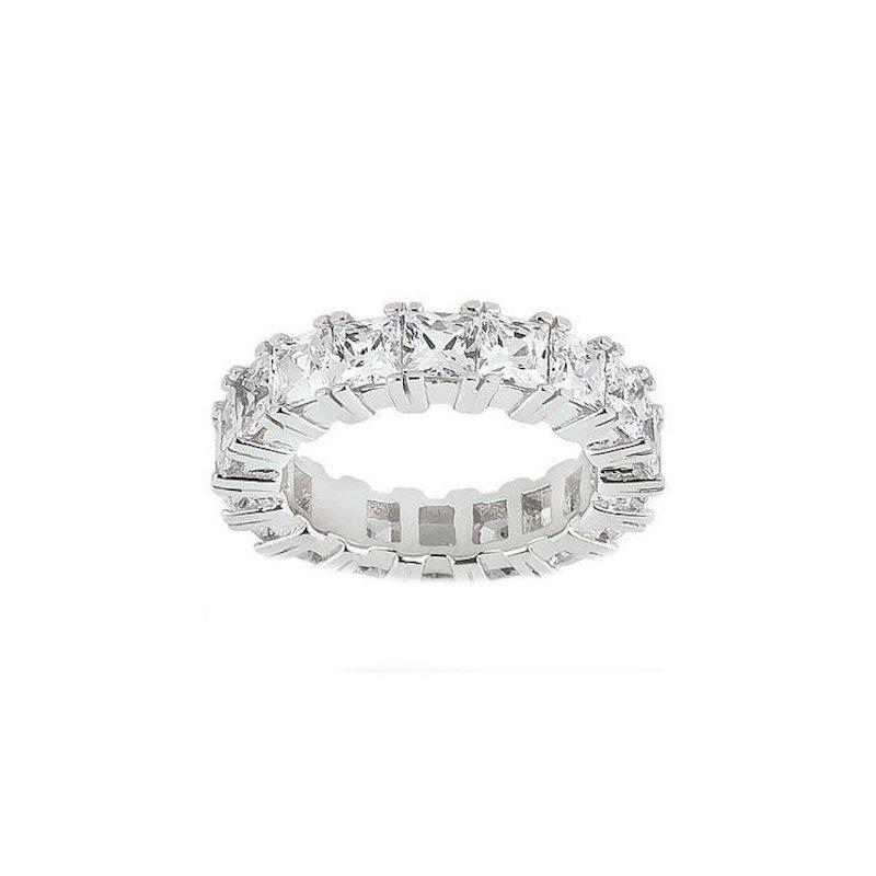 Princess Eternity Wedding Band Customized