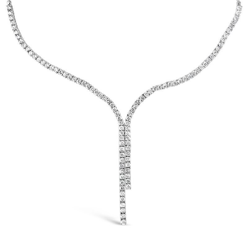 Gold Fire Diamonds Classic Rope Necklace