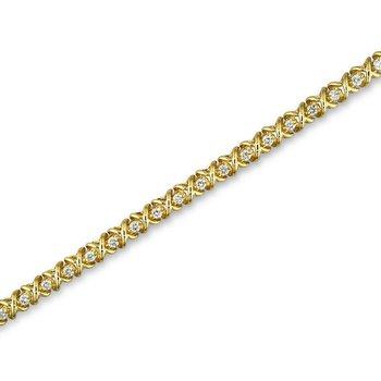 X Link Tennis Bracelet