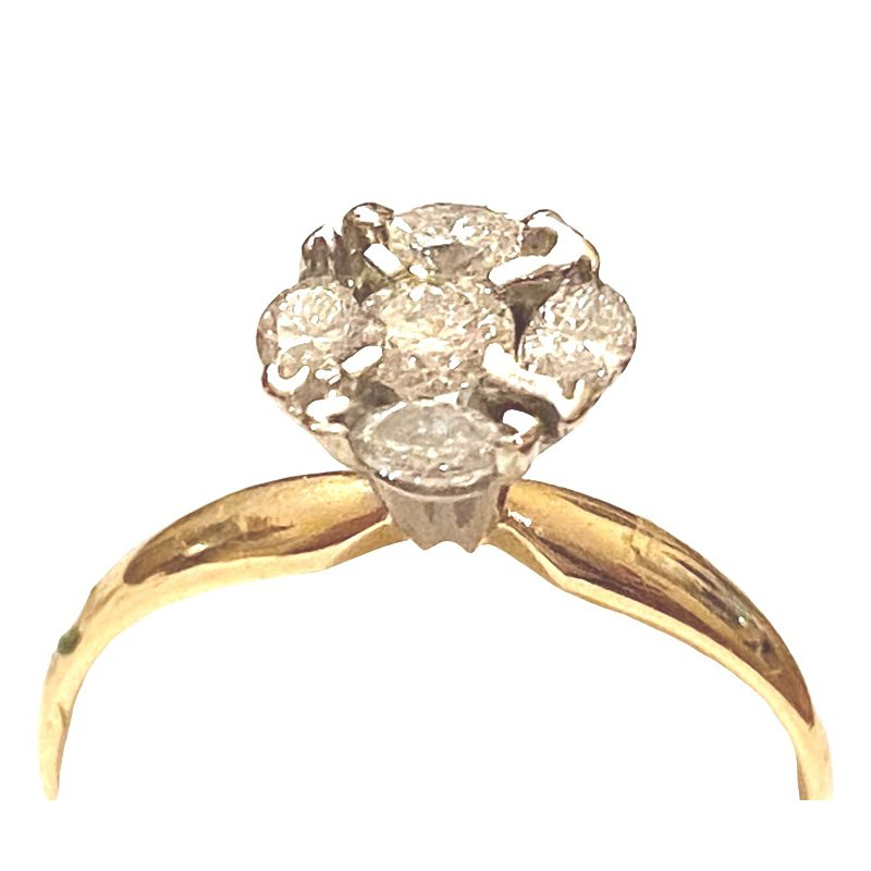 Gold Fire Diamonds Moonglow 1/2 ct
