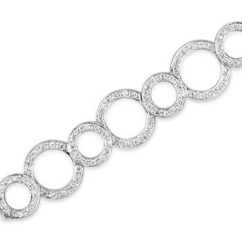 Alternating Circle Bracelet