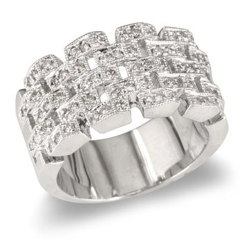 Chain Link Wedding Band
