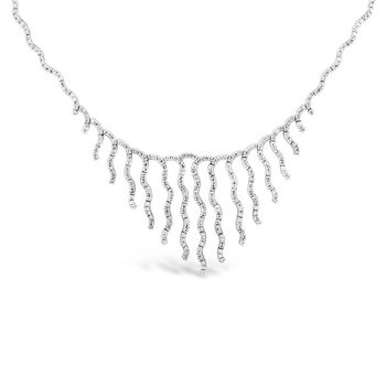 Wavy Bib Necklace