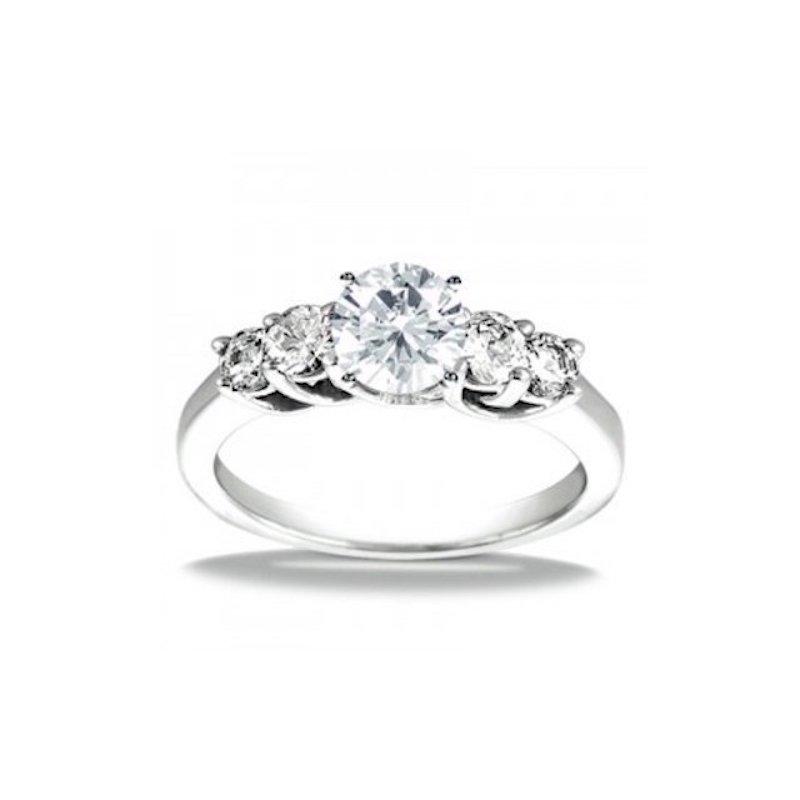 Gold Fire Diamonds Diamond Accent Semi Mount
