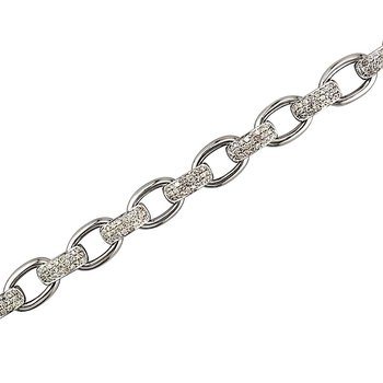 Chain Bracelet Diamond Links