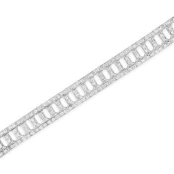 Grecian Bar Link Bracelet