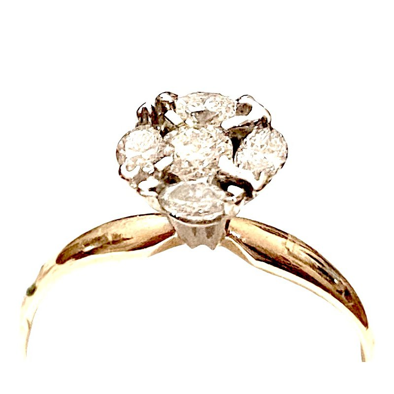 Gold Fire Diamonds Moonglow 1.29 ct