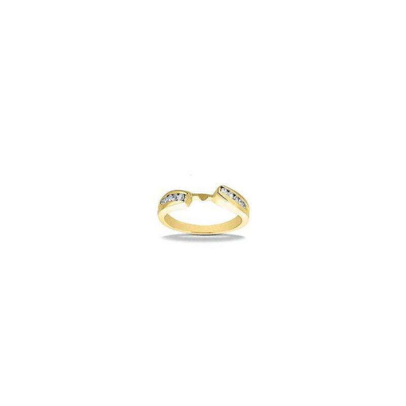 Gold Fire Diamonds Diamond Accent Yellow Semi Mount