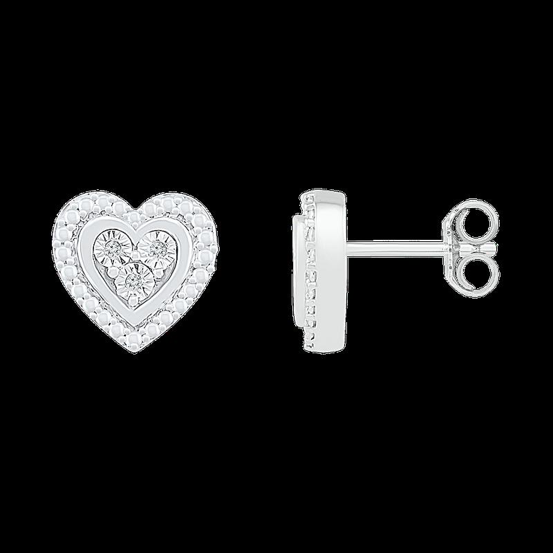 Gifts That Rock Heart Earrings