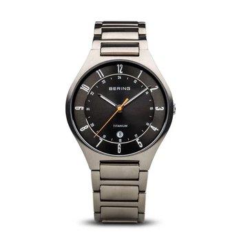 Titanium Case & Bracelet, Dark Gray Dial