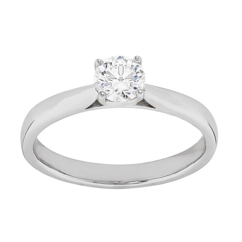 Lab Grown Diamonds Certified 1/2 Ct Diamond Engagement Ring
