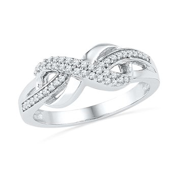 1/5ctw Diamond Infinity Ring