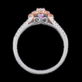 1/5ctw Round Halo Promise Ring 10KW/R