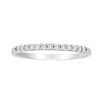 .15ctw White Gold Prong Set Diamond Band