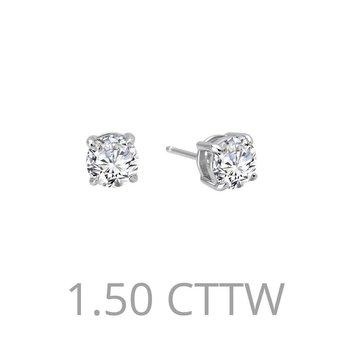 1.5 CTW Stud Earrings