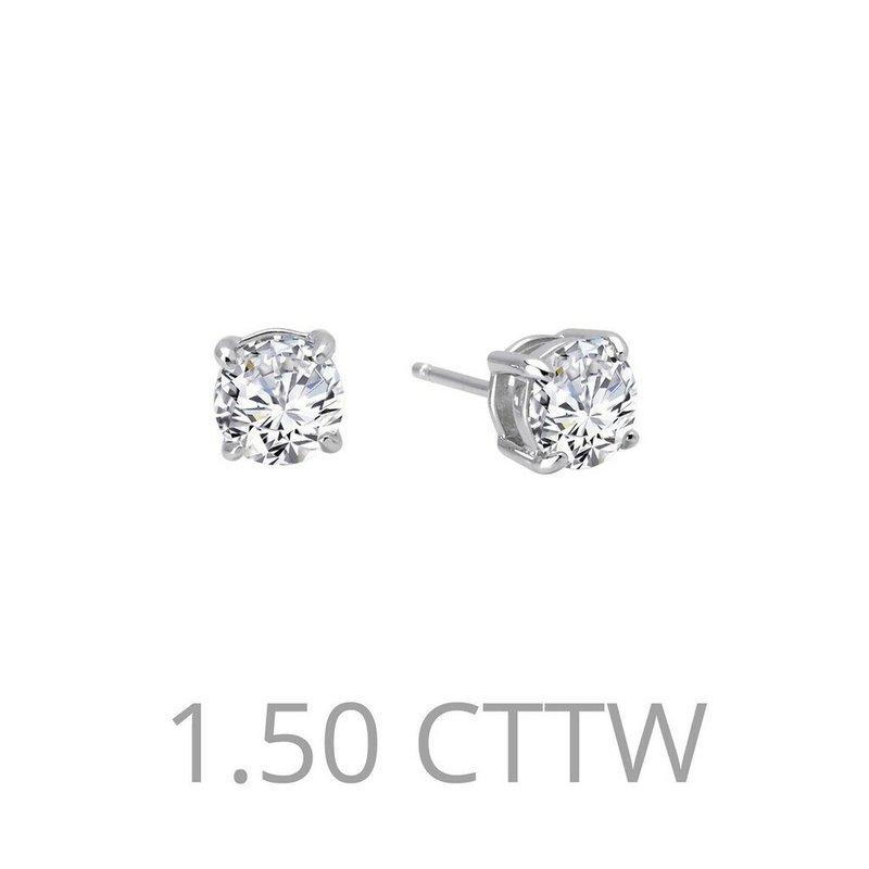 LaFonn 1.5 CTW Stud Earrings