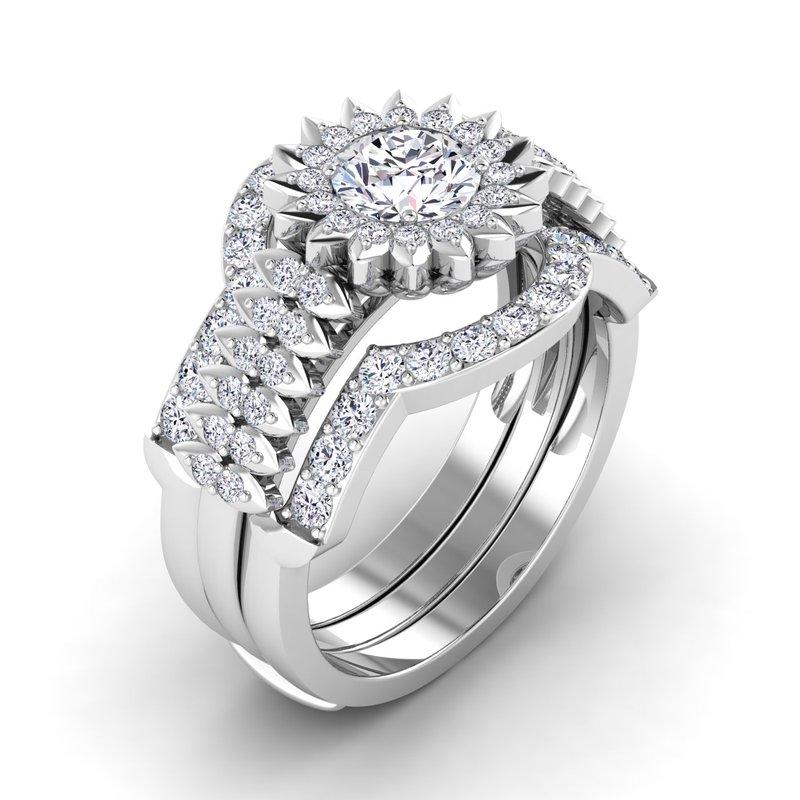 Lab Grown Diamonds Certified 3/8ctw Diamond Wedding Band