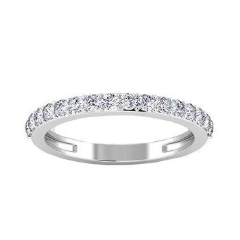 Certified 1/2ctw Diamond Wedding Band