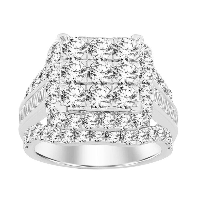 Saslow's & Henebry's Collection 3 ctw Diamond Ring