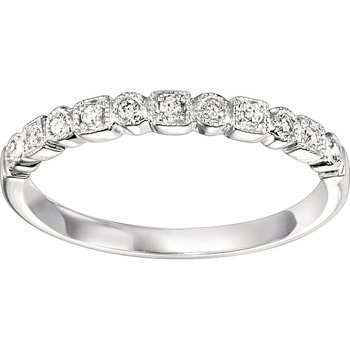 .10ctw Diamond Band Mixable White Gold
