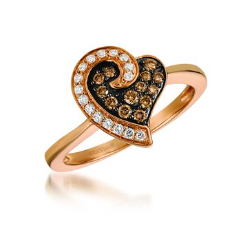 Le Vian Diamond Heart Ring