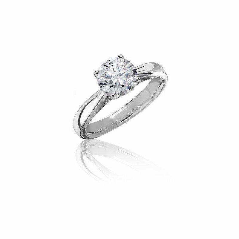 Lab Grown Diamonds .70-.71CT Diamond Solitaire