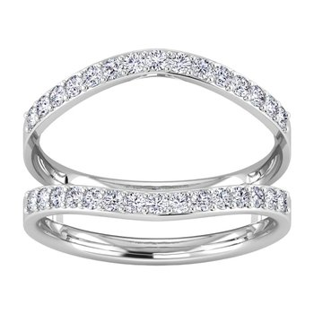 Certified Lab 3/8ctw Diamond Wedding Band