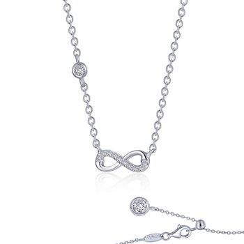 0.36 CTW Infinity Necklace