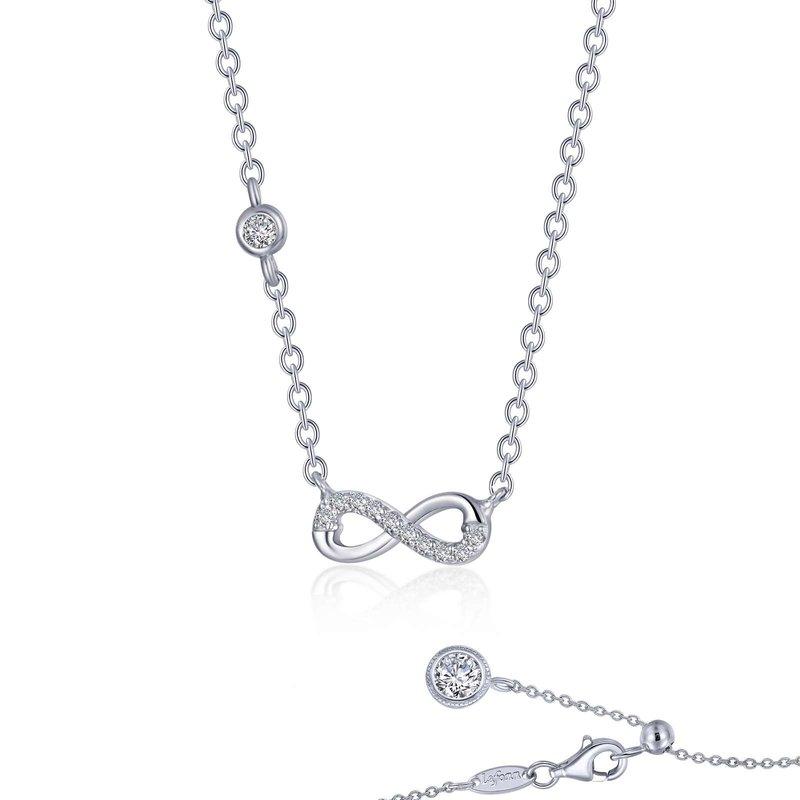 LaFonn 0.36 CTW Infinity Necklace