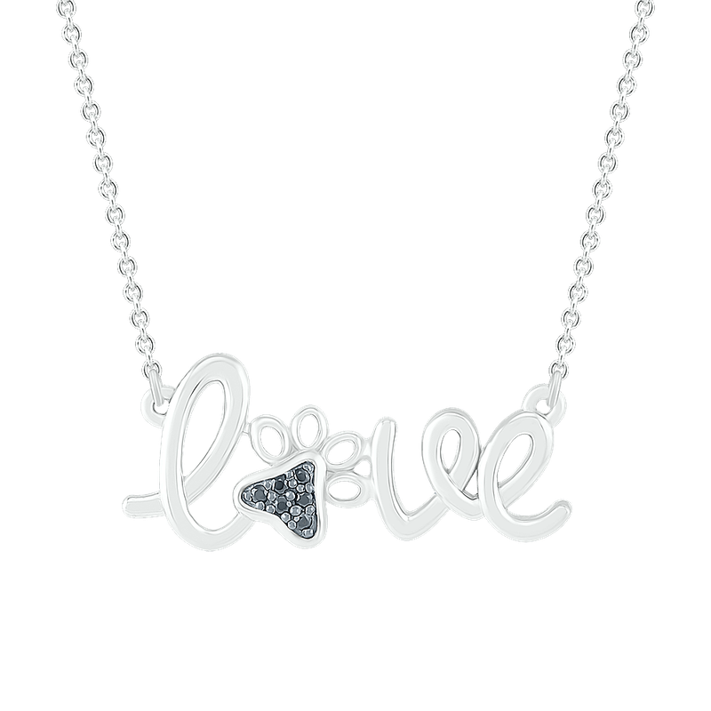 Gifts That Rock Love Paw Necklace