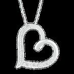 Gifts That Rock Diamond Heart Pendant