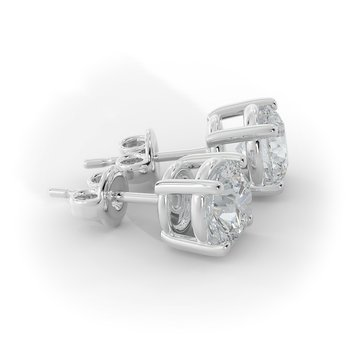 1 CT Diamond Studs