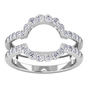 Certified 5/8ctw Diamond Wedding Band