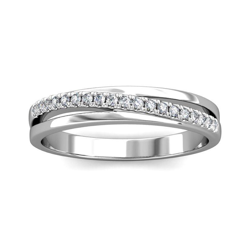 Novell Diagonal Diamond Ring