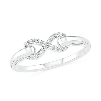 .06ctw Infinity Ring