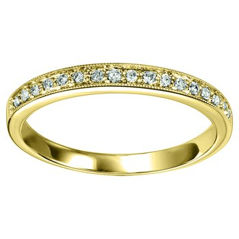 1/8ctw Diamond Band YG