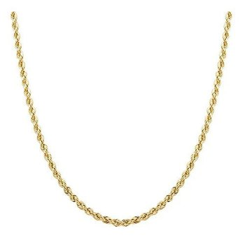 "18"" 3mm Lightweight Rope Chain"