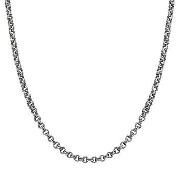 Silver Rollo Chain Necklace