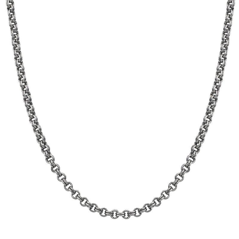 Esquire Men's Jewelry Silver Rollo Chain Necklace