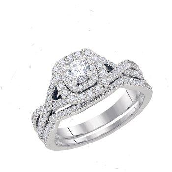 Certified 3/4ctw Bridal Set
